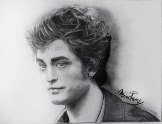 Robert Pattinson by Mouchene